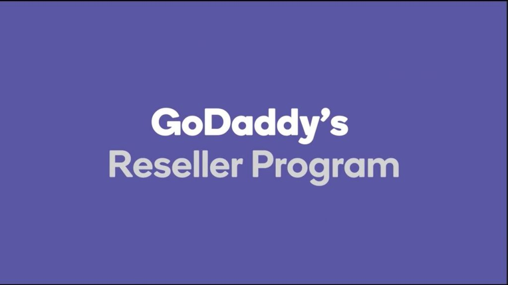 Godaddy reseller program